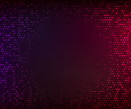 Abstract dark colorful background. Glowing mosaic of stars Royalty Free Stock Photo