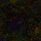 Abstract dark colorful universe.  Nebula night starry sky. Multicolor outer space.  Galactic texture background. Royalty Free Stock Image