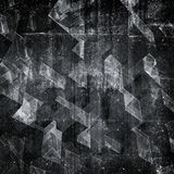 Abstract dark concrete square background pattern stock image