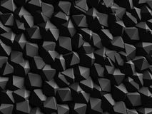 Abstract Dark Geometric Wall Background Stock Images