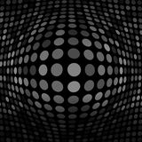 Abstract Dark Gray Technology Background Stock Image