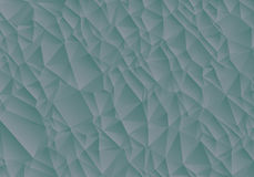Abstract dark green background consisting of triangles. Stock Images