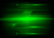 Abstract dark green and light technology design. Vector backdrop Royalty Free Stock Images