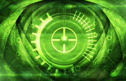Abstract dark green technical background Royalty Free Stock Photo