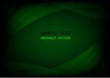 Abstract dark green wave vector background. vector graphic design vector illustration