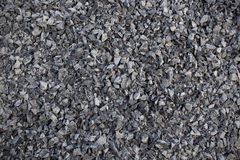 Abstract Dark Grey Gravel Texture Stock Photo