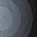 Abstract dark grey paper circles background Royalty Free Stock Photo