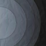 Abstract dark grey paper circles background Royalty Free Stock Photo