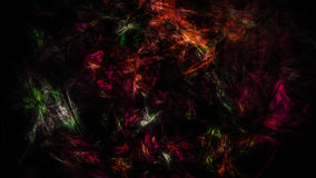 Abstract dark mess of different colors Stock Images