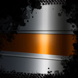 Abstract dark metal background. Illustration Royalty Free Stock Photos