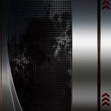 Abstract dark metal background. Illustration Stock Photos