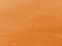 Abstract Dark Orange Recycle Mulberry Paper Texture Background Stock Image
