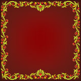 Abstract dark red background Stock Images