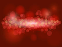 Abstract dark red background with bokeh effect. Abstract dark red background with circles and bokeh effect Royalty Free Stock Image