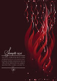 Abstract dark red background. Stock Photos