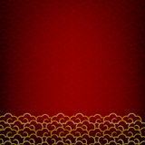 Abstract dark and red background texture  for happy chinese new Royalty Free Stock Photos