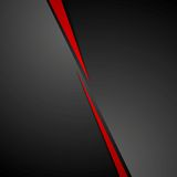 Abstract dark red black corporate tech background Stock Photography