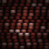 Abstract dark red horizontal bands background Royalty Free Stock Photos