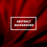 Abstract dark red silk smooth blurred background Stock Photos