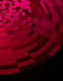 Abstract dark red technical background Stock Images