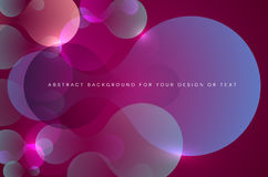 Abstract dark and shiny background with transparent metaball sha. Pes and place for your text - vector illustration vector illustration