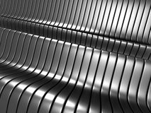 Abstract dark stripe silver metal background Royalty Free Stock Photo