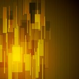 Abstract dark yellow tech background Stock Photography