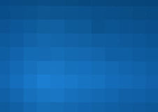 Abstract darkly blue background with square cells. A Stock Photo