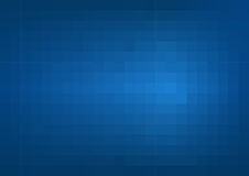 Abstract darkly blue background with square cells Royalty Free Stock Photography