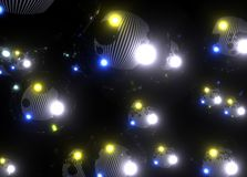 Abstract Darkness Background. This image can be used easily for Royalty Free Stock Photography