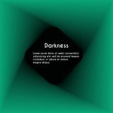 Abstract darkness. Abstract background for page with text Royalty Free Stock Image