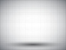 Abstract dashed background with drop shadow in middle and vignette Royalty Free Stock Image