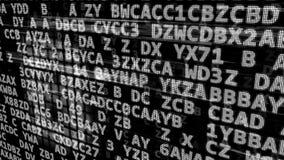 Abstract data code Stock Photo