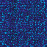 Abstract data flow technology pattern. blue squares background. Abstract data flow technology check pattern, blue pixels on background Stock Photography