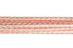 Abstract data transmission, stripped cable Stock Images