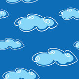 Abstract day clouds background Stock Photo