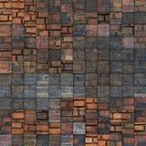 Abstract de baksteenpatroon van de mozaïektegel grunge Royalty-vrije Stock Foto's