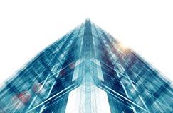 Abstract de bouwconcept het 3d teruggeven Stock Illustratie