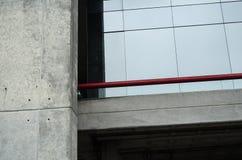 Abstract de bouwlandschap dicht omhoog, stedelijke fotografie dicht omhoog op een gebouw royalty-vrije stock fotografie