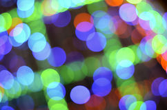 Abstract de-focused colorful lights bokeh Royalty Free Stock Photos