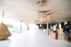 Abstract de halbinnenland van het onduidelijk beeldhotel Royalty-vrije Stock Foto