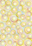 Abstract de lentedecor Stock Afbeelding
