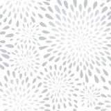 Abstract de punt naadloos patroon van de vuurwerkplons Bloemtextuur Stock Afbeeldingen