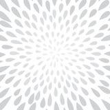 Abstract de puntpatroon van de vuurwerkplons Wervelings bloemenbloemblaadje textur Stock Afbeelding