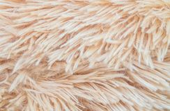 Abstract de stoffenpatroon van de close-upoppervlakte bij het bruine stoffentapijt bij de vloer van de achtergrond van de huistex Royalty-vrije Stock Afbeeldingen