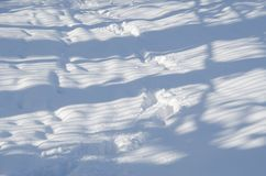Abstract de winterlandschap Stock Foto's