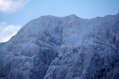 Abstract de winterlandschap Royalty-vrije Stock Foto's