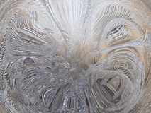 Abstract de winterpatroon Royalty-vrije Stock Fotografie