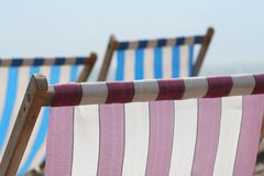 Abstract Deckchairs Stock Images