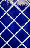 Abstract deco deep blue tone tile Royalty Free Stock Photo